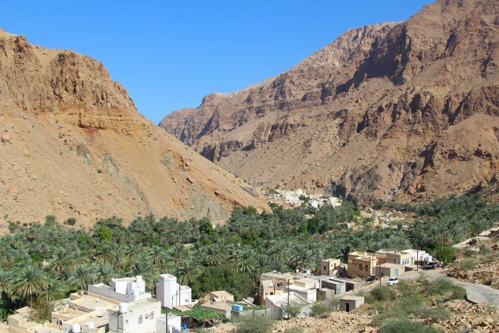 A village at Ash Sharqiyah Wadi Tiwi 76