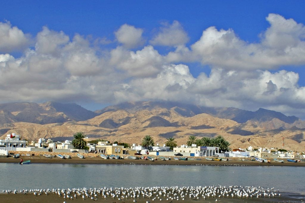 Beaches Fishing Village on the Coast of Quriyat